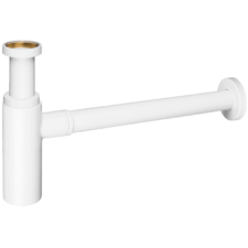 Sifón para lavabo blanco