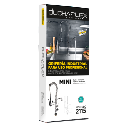 Packaging grifería industrial mini