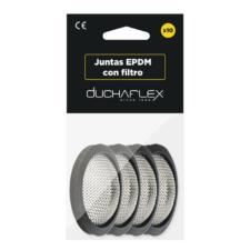 Junta goma plana con filtro skin