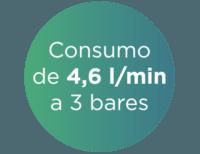 75% ahorro agua